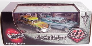 Hot Wheels Troy Lee Designs Go Mad 57 Cadillac 1 64 Scale Set