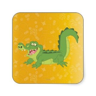 Croc Square Stickers