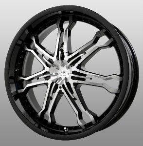 16 inch Verde Regency Chrome Wheels Rims 4x100