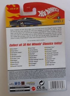 Hot Wheels Classics 70 Plymouth Superbird New in Box