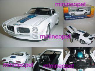 Welly 1972 72 Pontiac Firebird Trans Am 1 18 White