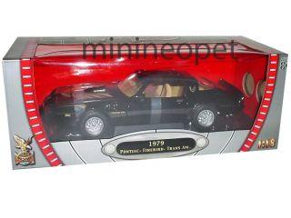 Road Signature 1979 Pontiac Firebird Trans Am 1 18 Black