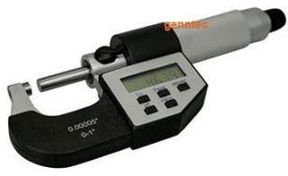 Electronic LCD Outside Read Digital Micrometer Hand Measuring Tool