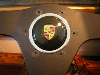 Porsche 911 Turbo 74 89 Leather Nardi Steering Wheel New