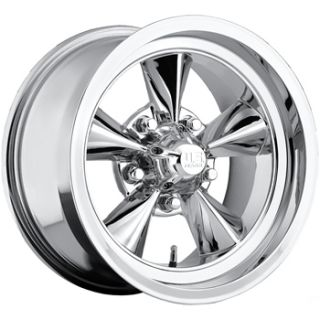 17 inch Torq Thrust Wheels Rims 5x4 75 Chevy Camero Nova GMC Classic