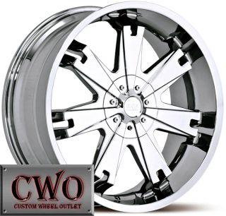 22 Chrome Status Soldier Wheels Rims 5x114 3 5x4 75 5 Lug Maxima