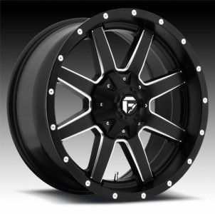 20 inch 20x9 Fuel Maverick Black Wheel Rim 6x135 F150 Expedition