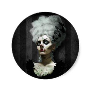 Ms Fright Sticker