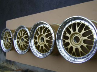 Original BBs E88 E28 Wheels Rims 18 Center Lock LM RS RARE Porsche