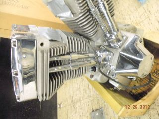 113 Ultima Motor Engine EVO Natural Harley Chopper Bobber Big Twin El