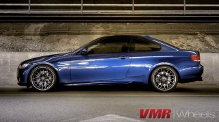 VMR 19 inch VB3 CSL Style Wheels Gunmetal BMW 3 Series E90 E92 E93