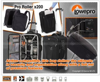 Lowepro Pro Roller X200 Rolling DSLR Camera Case A113