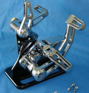 84 99 Softail Harley Chrome Outlaw Forward Controls 2