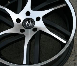 Koko Kuture Spline 20 Black Rims Wheels GMC Terrain 10 Up 20 x 10 5H