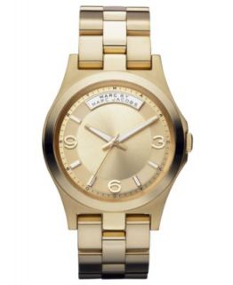 Marc by Marc Jacobs Watch, Womens Gold Tone Stainless Steel Bracelet