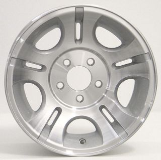 15 Silver Ranger® 3431 Wheel Machined Face Rim Fits Ford Mazda