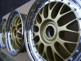 Original BBs E88 E28 Wheels Rims 18 Center Lock LM RS RARE Porsche