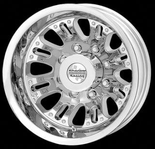 17x6 5 Chrome Wheel American Racing Deuce 8x6 5