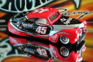Hot Wheels Racing 2001 Adam Petty 45 Sprint Tail Dragger