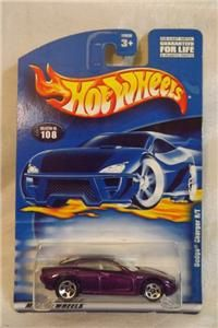 . Hotwheels Dodge Charger R/T # 108 Variation Purple / White Interior