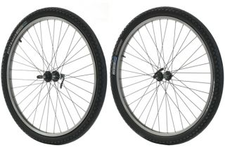 Trek Bontrager Mountain Bike Wheels Wheelset Fit Freewheel Type with