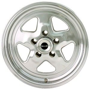 17 inch Ridler 655 Polished Wheels Rims 5x120 65 Camaro Chevelle GTO