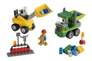 New Lego Road Construction Building Set 5930