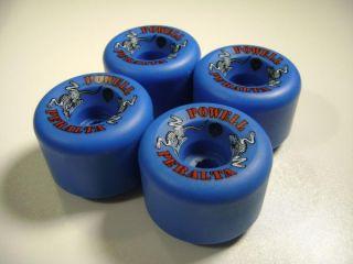 Powell Peralta 2 Rats Skateboard Wheels 60mm 97A Blue
