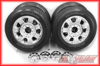 F250 SUDERDUTY KING RANCH FX4 CHROME OEM WHEELS MICHELIN TIRES 2012 18