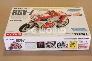 Kyosho Hor 1 8 RC Bike Motorcycle Suzuki RGV Bike