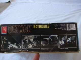 AMT Ertl Batman Batmobile Model Kit 6877 1 25 New