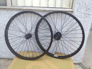 Revenge Complete Wheel 22 inch Set Wheels Black Front Holmes Fit s M