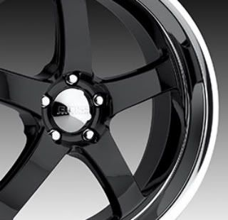 22 x 9 5 x 115mm Black Boss Wheels Style 335