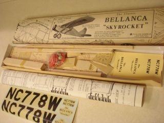 Flyline Models Bellanca Skyrocket R C Model Airplane Kit