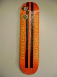 Powell Peralta Steve Caballero Faux Beamer Skateboard Deck Orange
