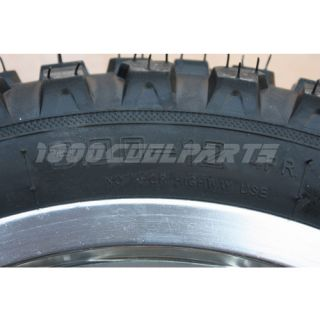 12 Rear Wheel Tire Honda XR50 CRF50 Pit Dirt Bike 110cc 125cc 140cc