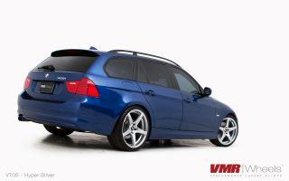 19x8 5 9 5 VMR 705 Matte Black Wheel 5x120 Fit BMW 325 328 330 335 M3