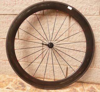 60mm 700c Carbon Road TT Bike Tubular Wheels Wheelsets