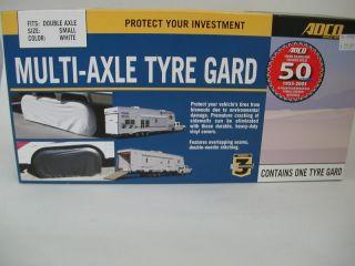 Triple Axle Tire Guard RV Accessory Camping Storage