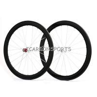 Hub Shimano/Campagnolo Road Carbon Wheelset 50mm Tubular Wheels matt