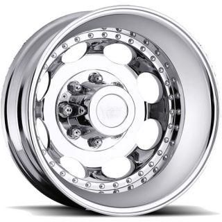 19 5x6 75 Machined Wheel Vision Hauler Dually 181 Rear 8x6 5