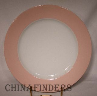 Fitz Floyd China La Ronde Pink pttrn 132 Dinner Plate