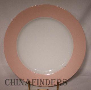 Fitz Floyd China La Ronde Pink pttrn 132 Dinner Plate