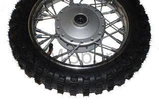 Dirt Pit Bike 10 Front Wheel Rim Tire Combo 2 5 x 10 Coolster Parts