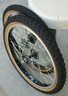 Vtg Old School BMX Ukai Rims SE Racing PK Ripper Quadangle Haro Master