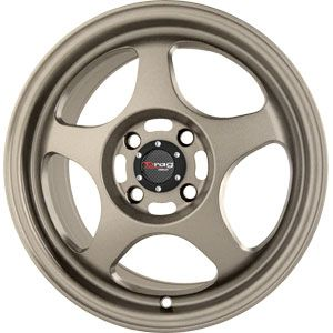 New 15x6 5 4x100 Drag Dr 23 Bronze Wheel Rim