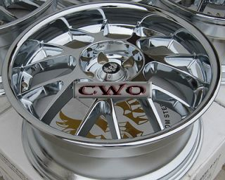 18 Chrome Stern St 7 Wheels Rim 5x120 5 Lug BMW 5 6 7 8 Series S10