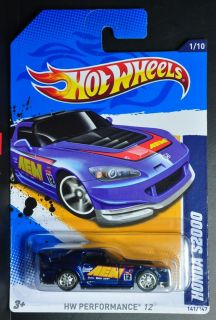 4715D HOT WHEELS 2012 SUPER TREASURE HUNTS HONDA S2000 INTERNATIONAL