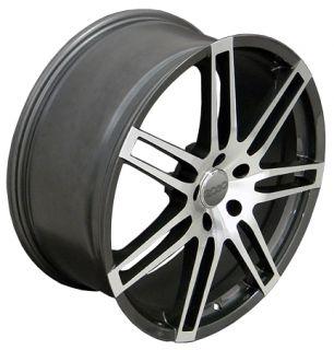20 RS4 Wheels Gunmetal Set of 4 Rims Fit Audi Q7 Cayenne VW Touareg