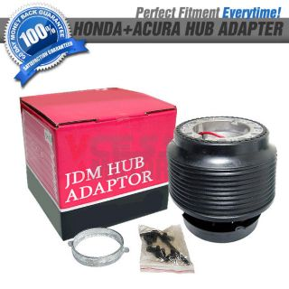 Fit 88 91 Honda Civic CRX JDM Style Boss Kit Steering Wheel Hub